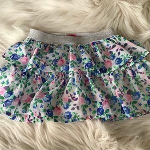 ❤️ 3/$15 ~ Disney Floral Layered Ruffle TUTU Skort